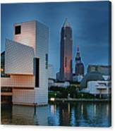 Rock And Roll Hall Of Fame And Museum Canvas Print