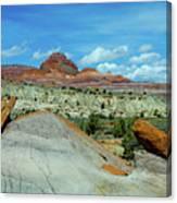 Rock Bits Canvas Print