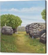 Rock City, Kanss Canvas Print