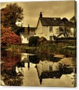 Rock Cottage Canvas Print