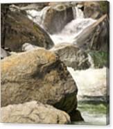 Rock Creek Snow Melt Canvas Print