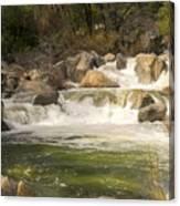 Rock Creek White Water Canvas Print