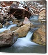 Rock Falls Canvas Print