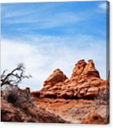 Rock Formations At Kodachrome Basin State Park, Usa Canvas Print