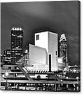 Rock Hall Front And Center  Canvas Print