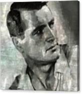 Rock Hudson Hollywood Actor Canvas Print