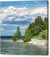 Rock Island Summer Canvas Print