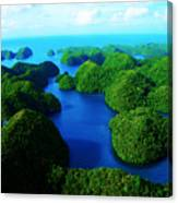 Rock Islands Canvas Print
