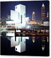 Rock N Roll Hall Of Fame Canvas Print