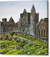 Rock Of Cashel Ireland Canvas Print
