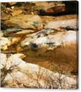 Rock Pattern Canvas Print