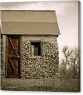 Rock Shed 2 Canvas Print