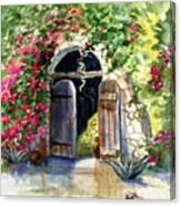 Rock Springs Gate Canvas Print