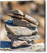 Rock Stack Canvas Print