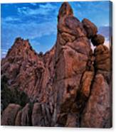 Rock Towers Canvas Print