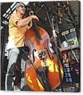 Rockabilly Bass Canvas Print