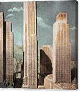 Rockefeller Center Canvas Print