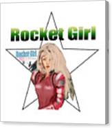 Rocket Girl Canvas Print
