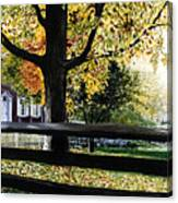 Rockford In Autumn Canvas Print