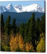 Rockies Mtn M 204 Canvas Print