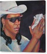 Zydeco Man Canvas Print