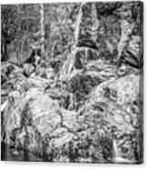 Rockin Water Canvas Print