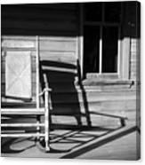 Rocking Chair Work A Canvas Print