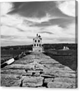 Rockland Breakwater Lighthouse Canvas Print