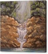 Rockledge Falls Canvas Print