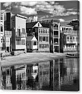 Rockport Coast In Ir Canvas Print