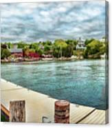 Rockport Inner Harbor Canvas Print