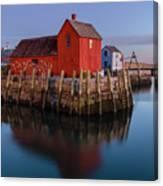 Rockport Ma Fishing Shack - #1 Canvas Print