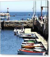 Rockport Ma Inner Harbor Canvas Print