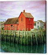 Rockport, Motif No. 1, Fishing Shack Canvas Print