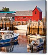 Rockport Motif Canvas Print