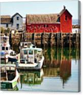 Rockport Sunrise Canvas Print