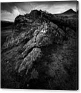 Rocks And Ben More Canvas Print