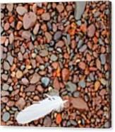 Rocks Of Lake Superior 19 Canvas Print