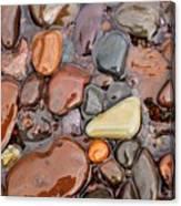 Rocks Of Lake Superior 12 Canvas Print
