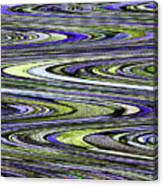 Rocks On Beach Abstract Canvas Print