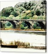 Rockville Bridge On The Susquehanna River Canvas Print