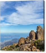 rocky Australian mountain summit Canvas Print