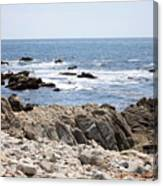 Rocky California Coastline Canvas Print