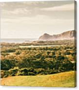 Rocky Capes And Rugged Coasts Canvas Print