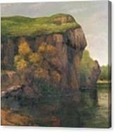 Rocky Cliffs Canvas Print