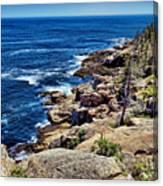 Rocky Coastline 1 Canvas Print
