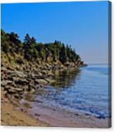 Rocky Coastline Canvas Print
