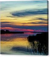 Rocky Creek Sunset Canvas Print
