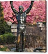 Rocky In Spring Canvas Print
