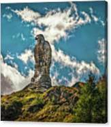 Rocky King Of Skies Canvas Print